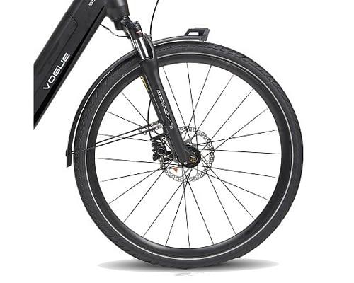 Vogue SLX D9 2021 Dames tourfiets middenmotor elektrische fiets kopen voorwiel detail