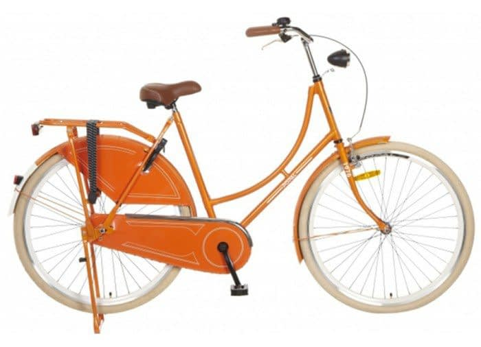 Popal omafiets 28 inch Oranje