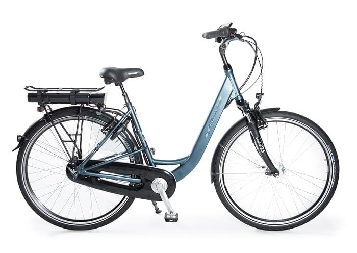Aldo Lage Instap fiets Elektrisch inch Seven E-Bike 28 inch blauw