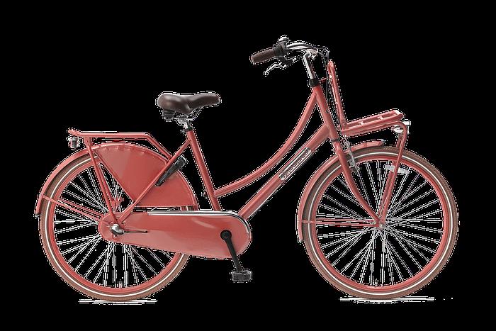 Popal daily dutch 26 inch N3 Meisjesfiets Transportfiets 26 inch met versnellingen Flamingo