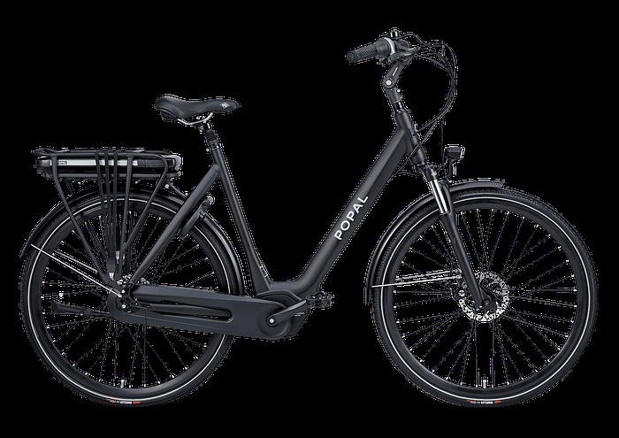 Vidar E bike Popal Elektrische fiets Vidar damesfiets elektrisch mat zwart