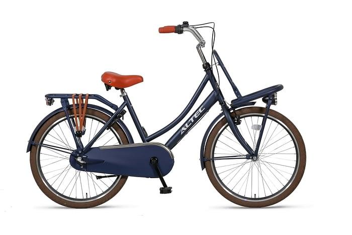 Altec-Dutch-meisjesfiets-24inch-Transportfiets-N3-Jeans-Blue