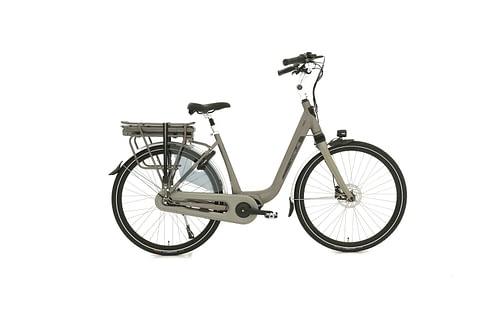 Vogue Mio elektrische fiets 8V Grijs Elektrische Fiets Middenmotor Hydraulische schijfremmen
