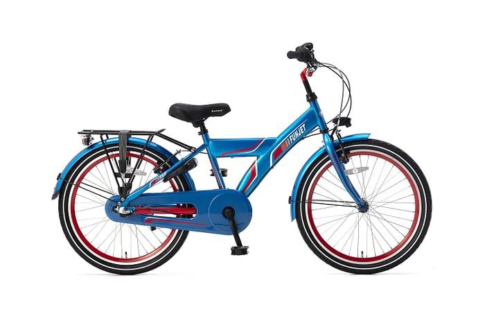 Popal FunJet N3 Jongensfiets 22 inch blauw rood