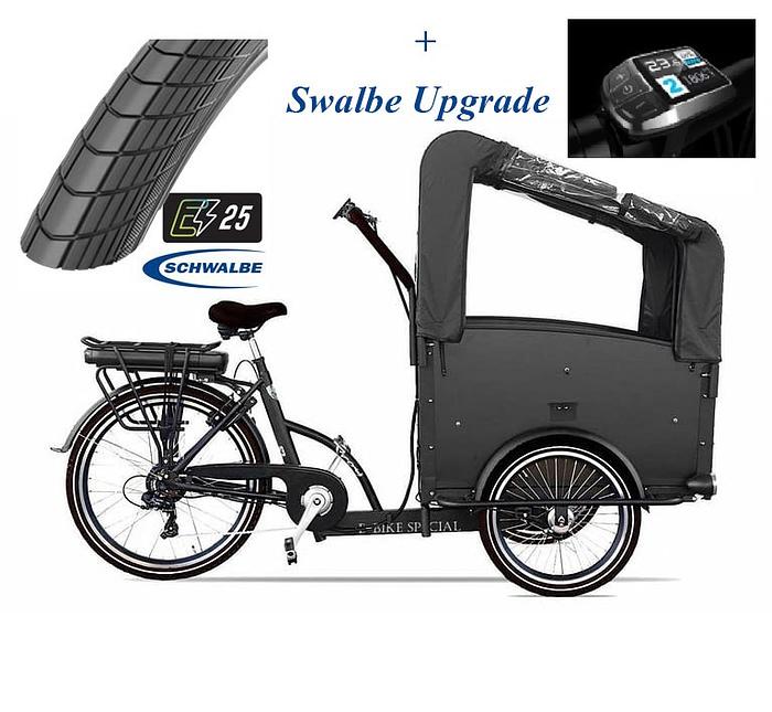 troy-bakfiets-Elektrisch-Swalbe-upgrade-7speed-zwart-driewieler-481wh