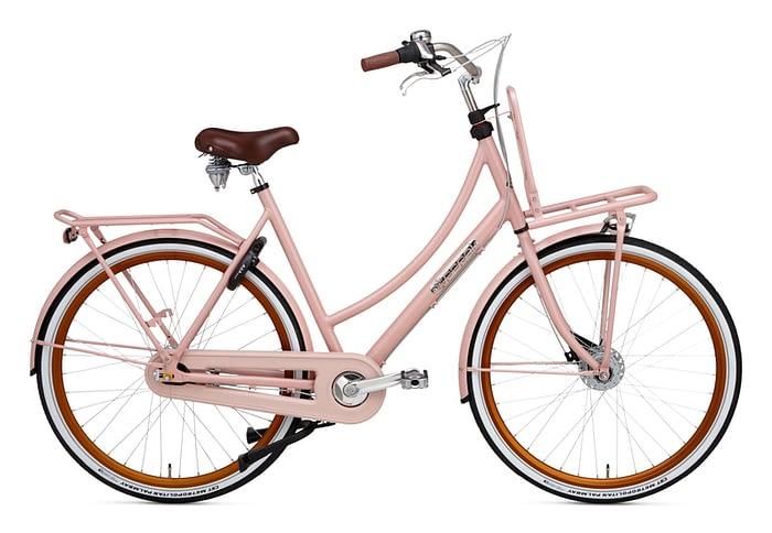 Popal Prestige Daily Dutch 28 inch Damesfiets Transportfiets Blush Pink
