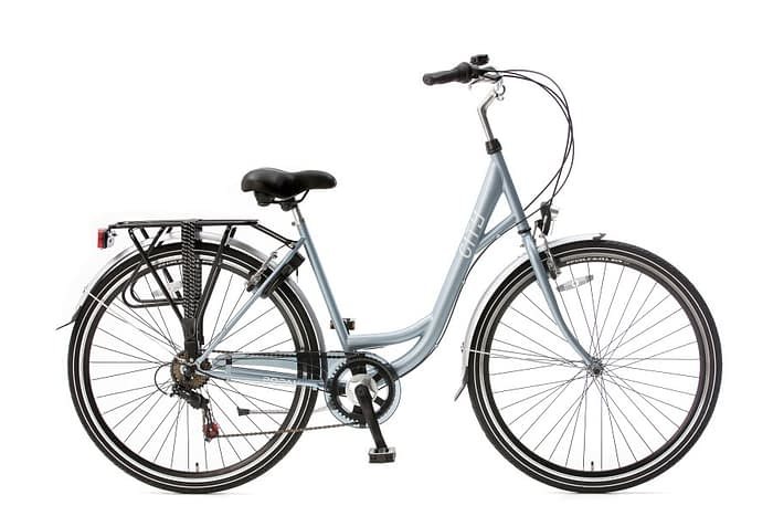 popal city 6 sp damesfiets licht blauw
