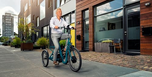 Huka-City_driewieler fiets senioren lage instap