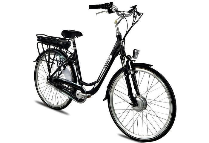 vogue_basic_elektrische fiets 28_inch_50_cm_damesfiets_3Speed-mat-zwart
