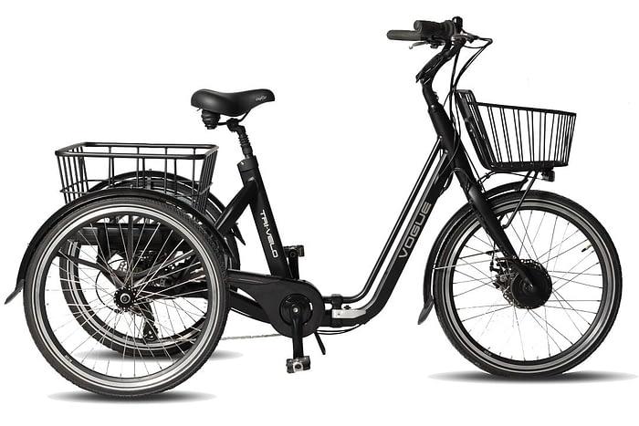 Volwassen-Driewieler-fiets-Elektrische-VOGUE-TRI_VELO-MATT_BLACK