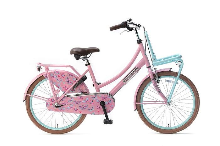 Popal-Meisjesfiets-Daily-Dutch-Basic-meisjesfiets-22-inch-mint-roze
