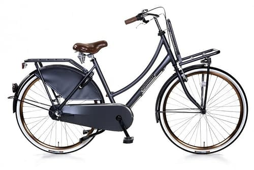 popal daily dutch royal dames transportfiets petrol blauw 28 inch
