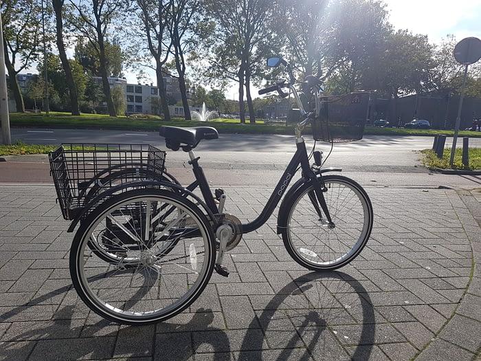 driewieler fiets volwassenen lage instap aluminium 24 inch 26 inch