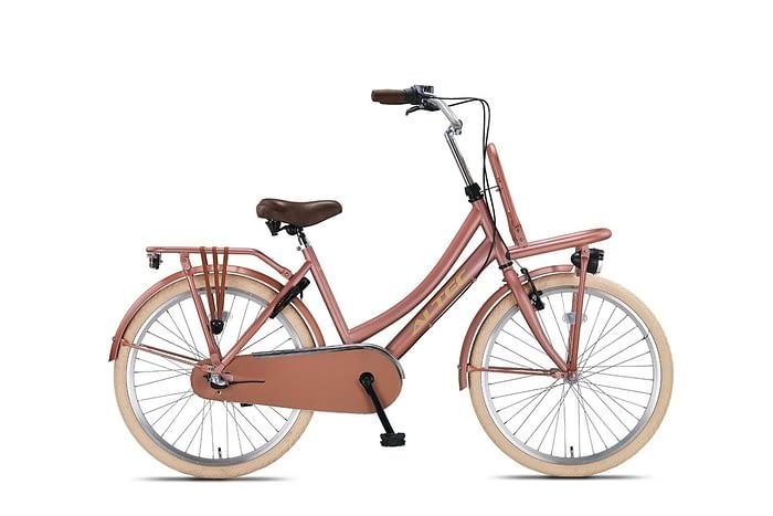 Altec-Dutch-meisjesfiets-24inch-Transportfiets-N3-Lavender-Nieuw-2020