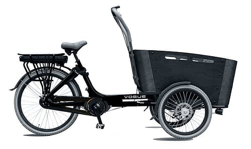 Vogue-Carry-3-Elektrische-Bakfiets-Matzwart-zwart