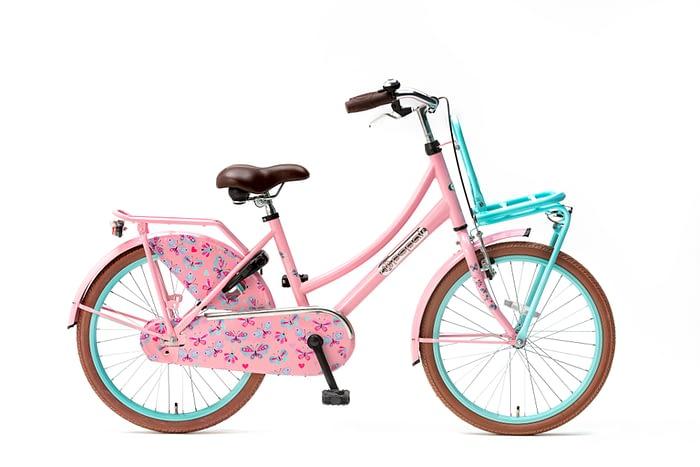 Popal-Daily-Dutch-Basic-meisjesfiets-22-inch-mint-roze