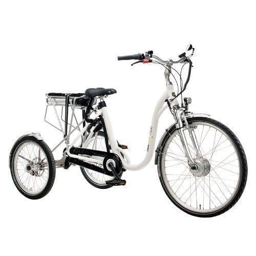 Volwassen Driewieler fiets 26 inch 25 inch Elektrische Driewieler dutchebike zij