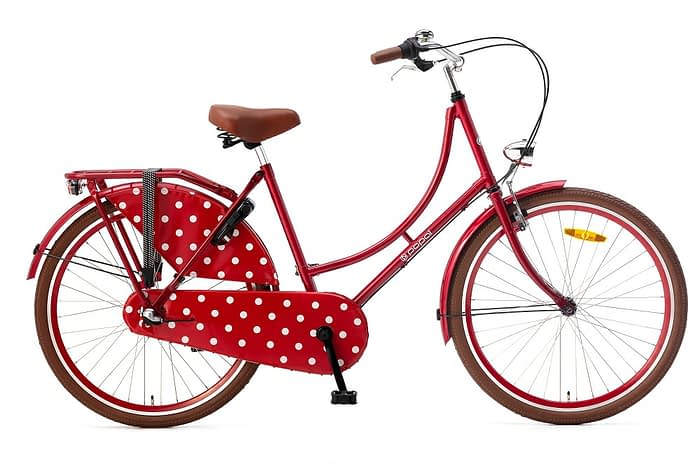 Popal Omafiets 26 inch rood