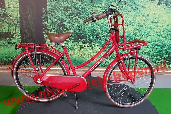 vogue elite dames transportfiets rood 3