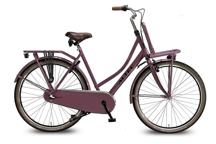 Altec-Dutch-Damesfiets-28inch-Transportfiets-N3-Dark-Rose-50-cm