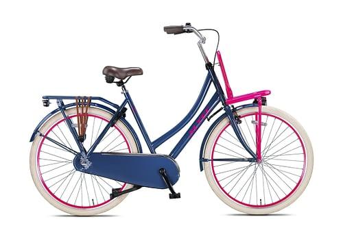 Altec-Urban-28inch-Transportfiets-50cm-Gray-Pink-Nieuw