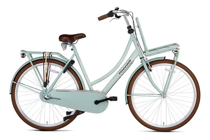 Popal Daily Dutch Basic plus 28 inch dames Transportfiets Havana Green