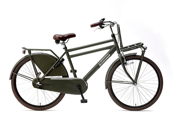 Popal Daily Dutch Basic 26 inch N3 jongensfiets 26inch transportfiets Army Green Leger groen
