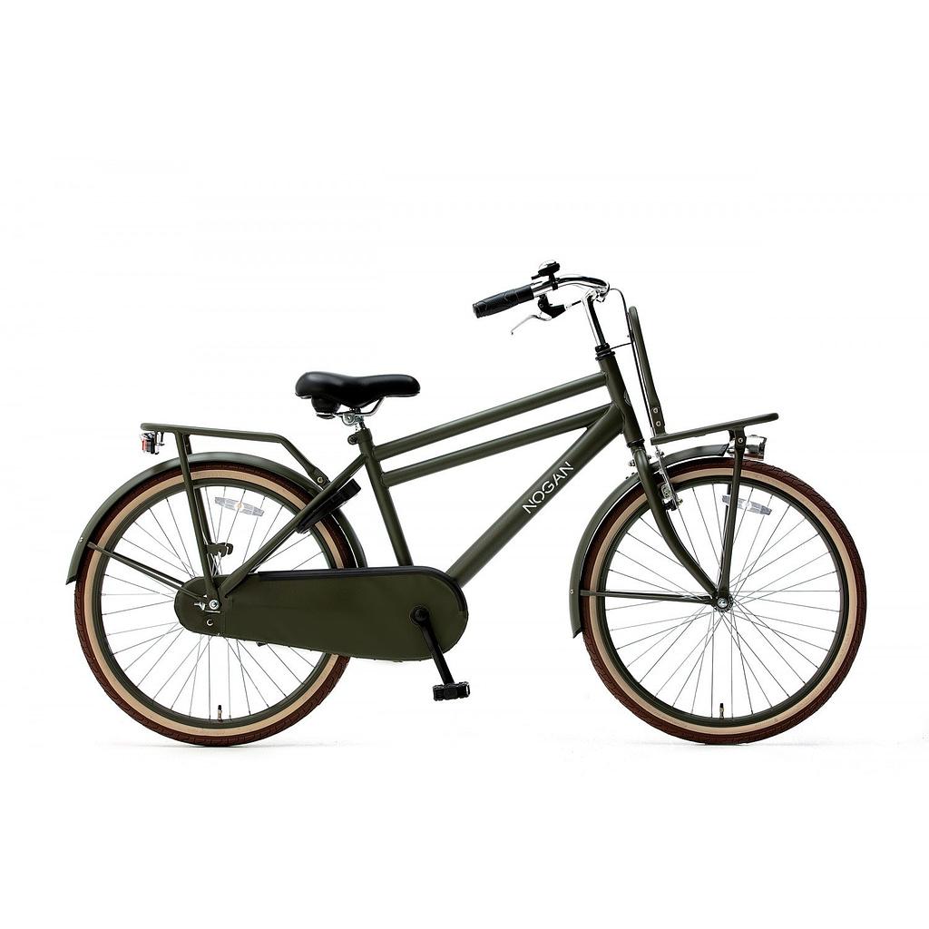 Nogan Vintage 26 inch Jongens Transportfiets Army