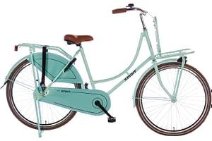 Spirit Omafiets Groen 26 inch + voordrager