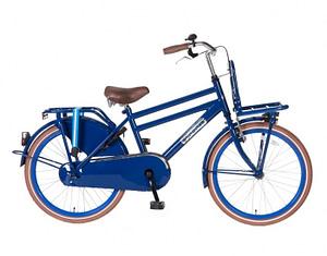 Transportfiets Popal Daily Dutch Jongensfiets 22 inch Blauw
