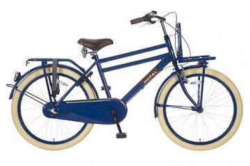 Transportfiets Popal Transit N3 Jongensfiets 24 inch blauw