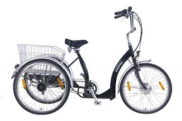 Popal Volwassen Elektrische Driewieler E Luxe