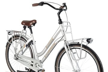 Vogue liberty dames transportfiets grijs