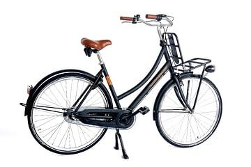 Aynak Elly 28 inch Dames transportfiets mat-zwart 53cm