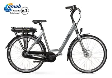 Popal E-Volution 12.2 Elektrische damesfiets 28 inch iron grey