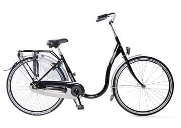 Aldo Basic instap fiets senioren 28 inch 46cm stadsfiets lageinstap