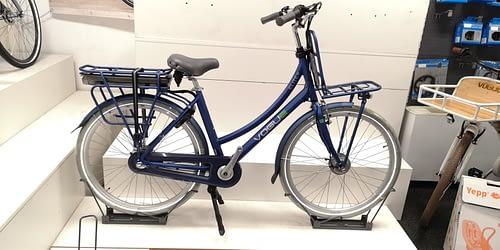 Vogue Elite Elektrische transportfiets N3 2020 blauw mat