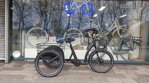 Popal Wave Driewieler fiets voor volwassenen met ondersteuning