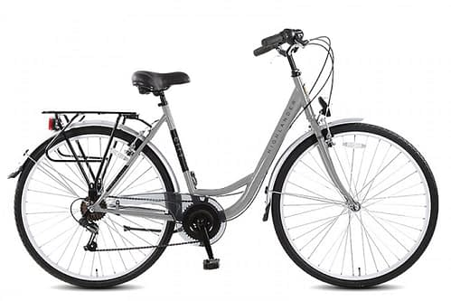 Highlander City Damesfiets 28 inch 6 speed grijs