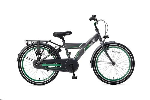 Popal FunJet X Jongensfiets 22 inch grijs groen