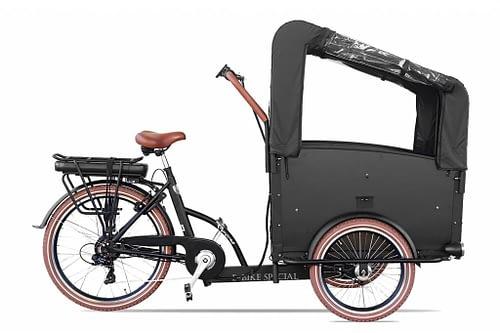 Troy Elektrische bakfiets driewieler 7 speed 24 inch 26 inch