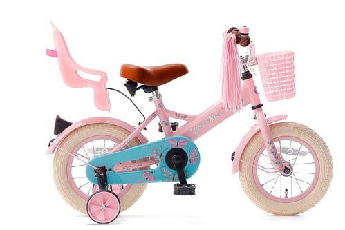 little miss 12 inch meisjesfiets roze