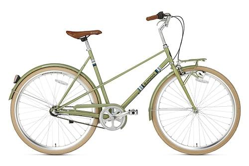 popal capri N3 damesfiets olive green