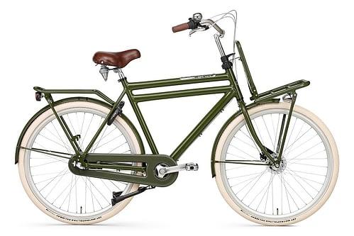 popal daily dutch prestige N3 herenfiets Rollerbrake leger groen