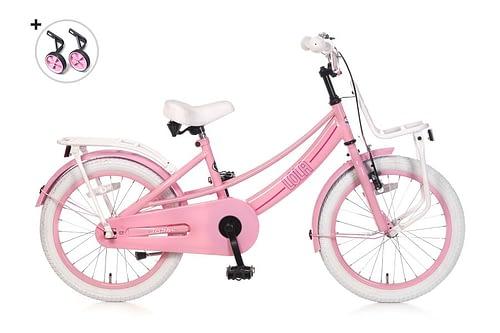 popal lola 18 inch meisjesfiets roze