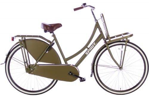 spirit-transporter Damesfiets 28 inch meisjesfiets-legergroen-2805-500x450