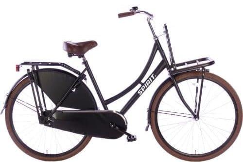 spirit-transporter Damesfiets 28 inch meisjesfiets-mat-zwart-2805-500x450