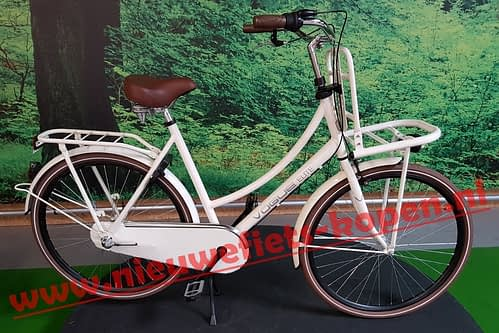 vogue elite dames transportfiets creme 3