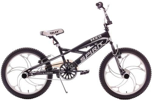 Spirit Lion Bmx 20 inch: Zwart-Wit