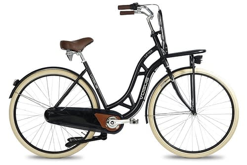 Vogue Lifter dames transportfiets mat zwart